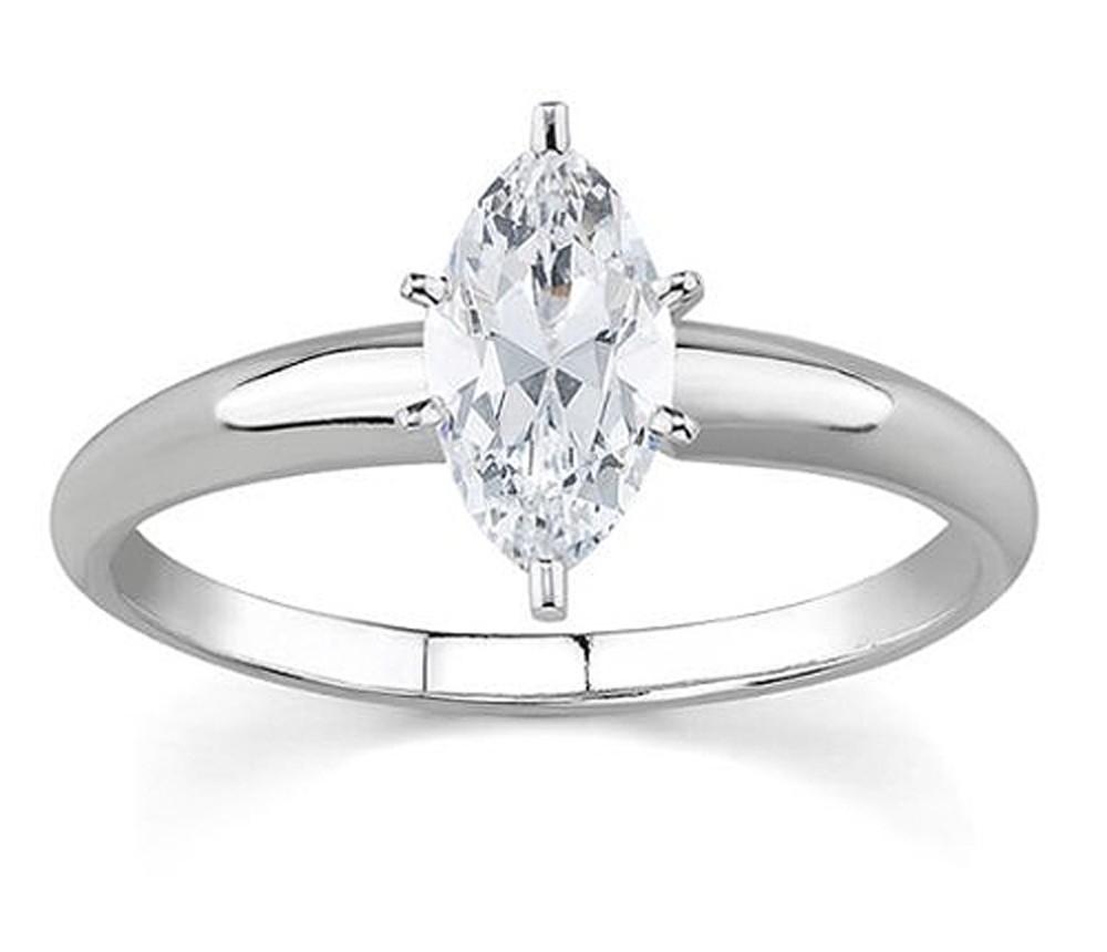 Carat Marquise Diamond Solitaire Ring